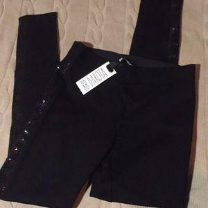 NWT BB DAKOTA sequin leggings black